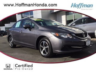 Certified Used 2015 Honda Civic SE Sedan in West Simsbury