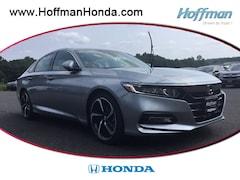 New 2018 Honda Accord Sport Sedan 1HGCV1F36JA192463 in West Simsbury