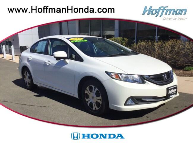 Used 2015 Honda Civic Hybrid Sedan near Hartford