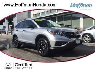 Certified Used 2016 Honda CR-V SE SUV in West Simsbury
