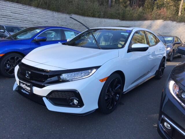 New 2019 Honda Civic Sport Touring Hatchback SHHFK7H9XKU400358 in West Simsbury