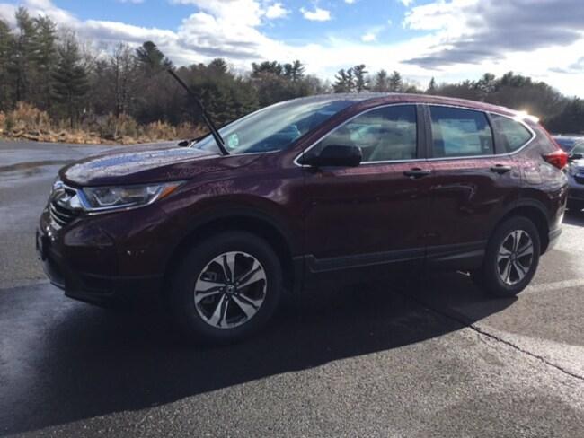 New 2019 Honda CR-V LX AWD SUV 2HKRW6H37KH215646 in West Simsbury
