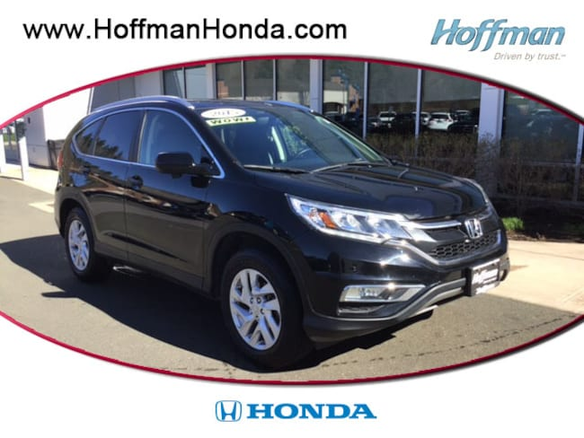 Used 2015 Honda CR-V EX-L SUV near Hartford