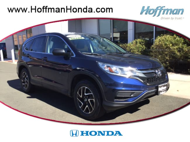 Used 2016 Honda CR-V SE SUV near Hartford