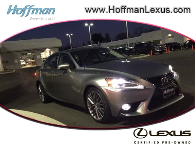 Certified Used 2016 LEXUS IS Sedan in East Hartford