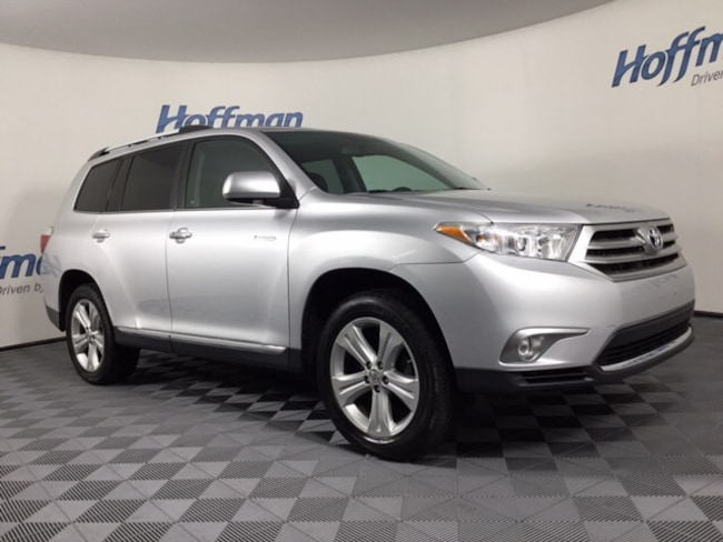 Used 2012 Toyota Highlander SUV in East Hartford