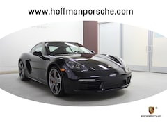 New 2018 Porsche 718 Cayman S Coupe WP0AB2A84JK278498 for sale in Hartford, CT