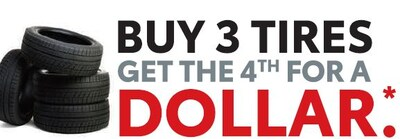 Buy 3 - Get 4th for $1*