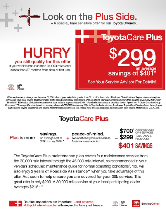 Toyota Care Plus >> Toyotacare Plus Hoffman Toyota