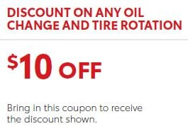 Any Oil Change and Tire Rotation