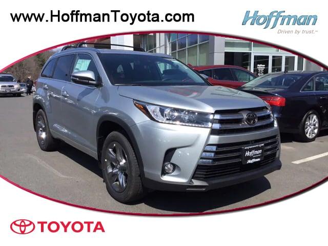 New 2018 Toyota Highlander Limited Platinum V6 SUV for sale near Hartford