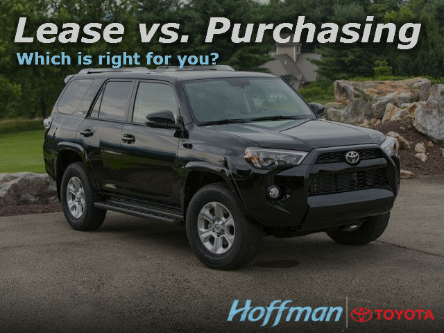 Buy Vs Lease Auto Financing Near Hartford Hoffman Toyota In