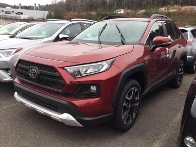 New 2019 Toyota RAV4 Adventure SUV near Hartford