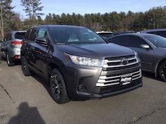 New 2019 Toyota Highlander LE V6 SUV for sale near Hartford