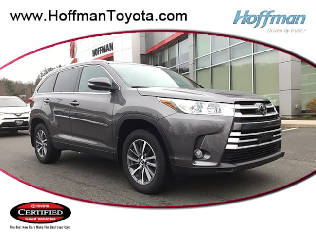 Certified Used 2019 Toyota Highlander XLE SUV near Hartford