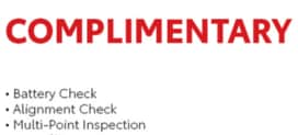 Alignment Check - Battery Test - MPI