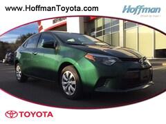 Used 2016 Toyota Corolla LE Sedan for sale near Hartford