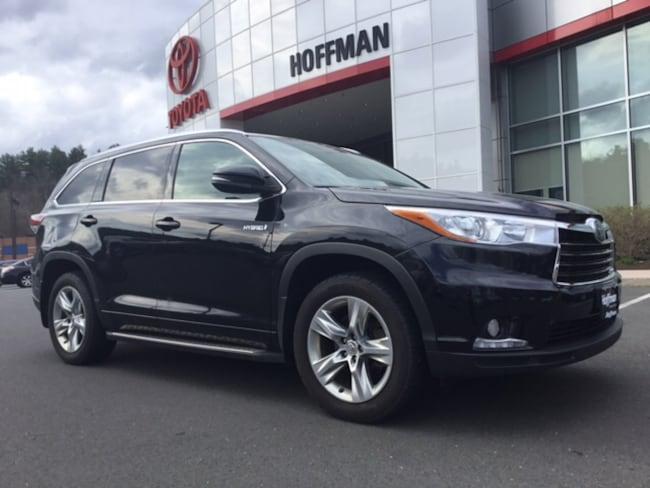 Used 2015 Toyota Highlander Hybrid Limited SUV near Hartford