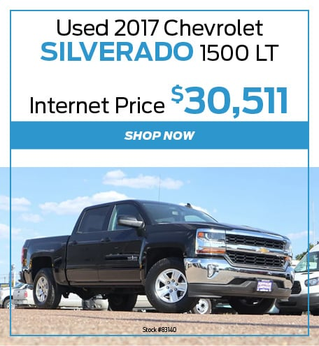 Used 2017 Chevy Silverado