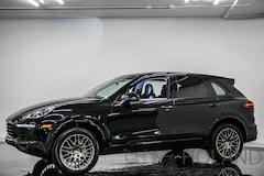 2018 Porsche Cayenne Platinum Edition VUS