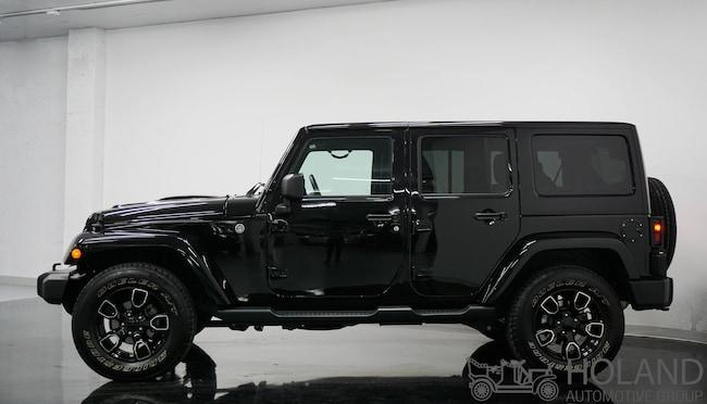 2018 Jeep Wrangler Unlimited Sahara VUS