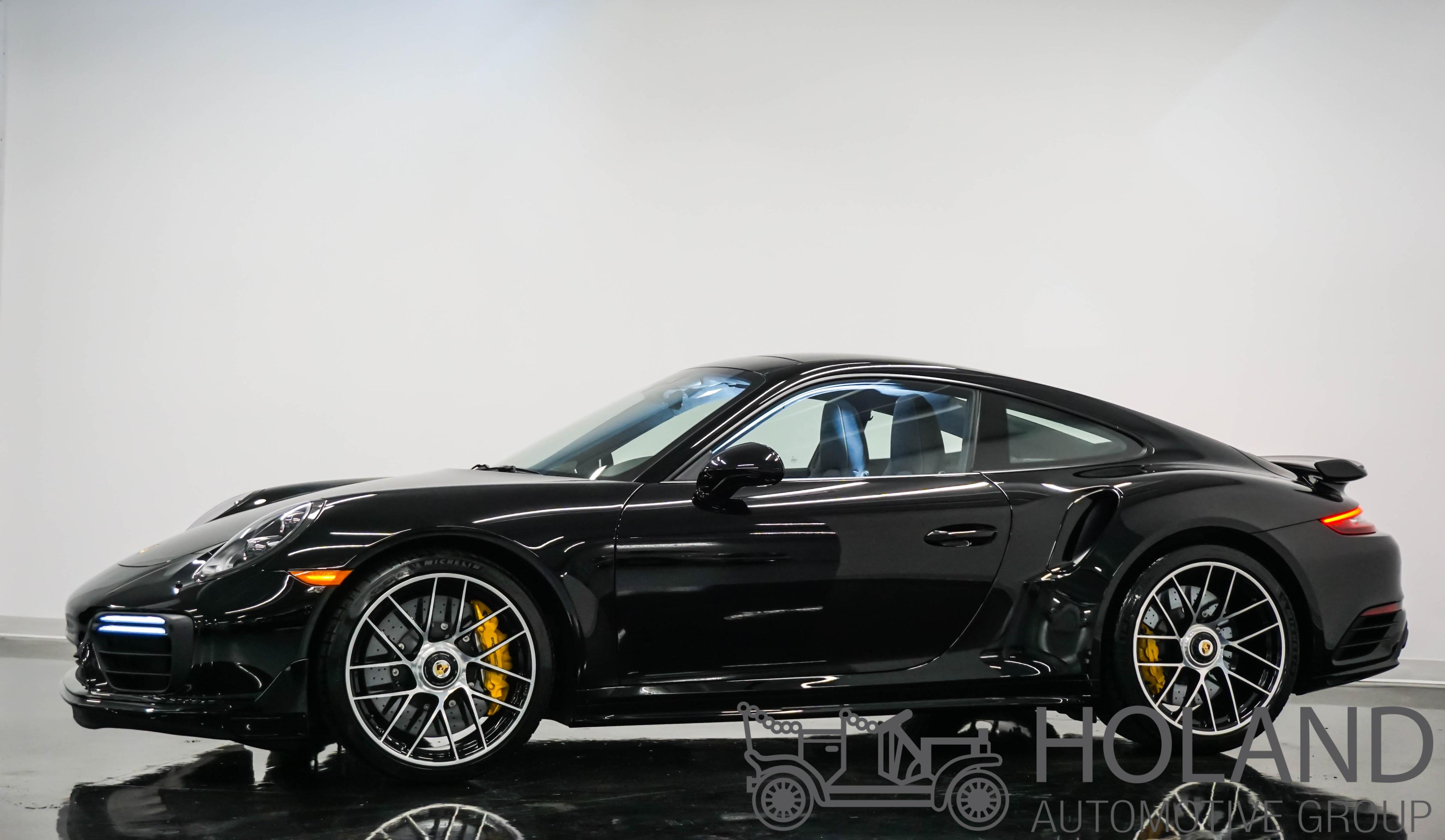 2018 Porsche 911 Turbo S Coupé