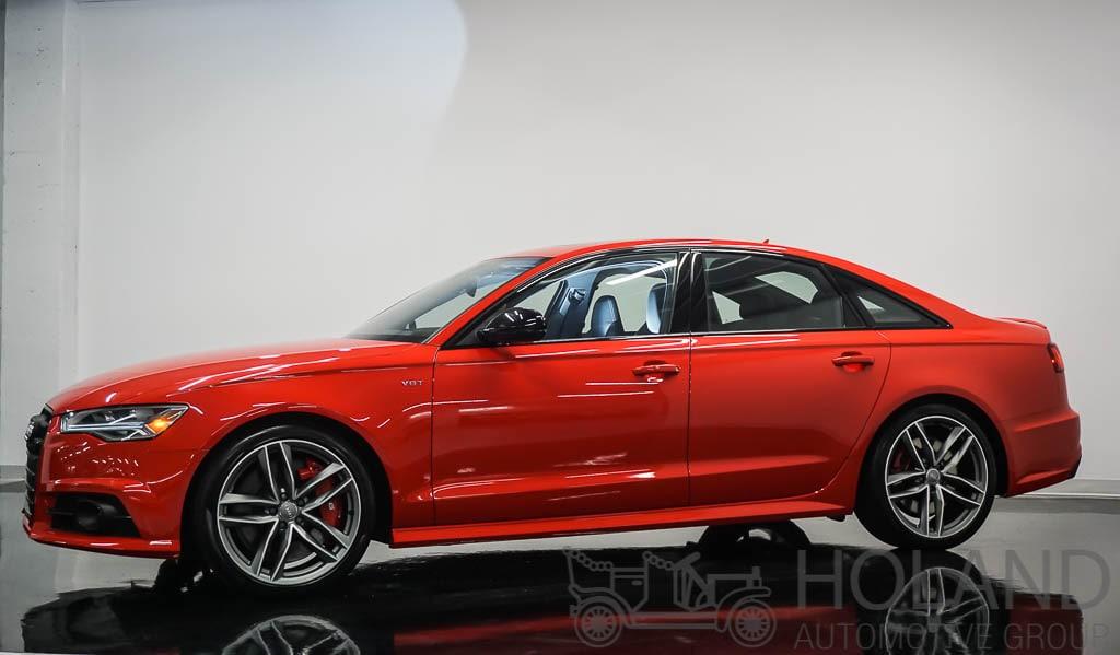 2018 Audi S6 4.0t LEASE ONY - DEMO Berline