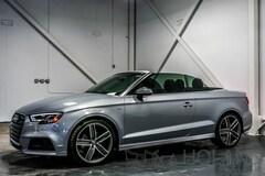 2017 Audi A3 2.0T S-LINE Technik Décapotable ou cabriolet
