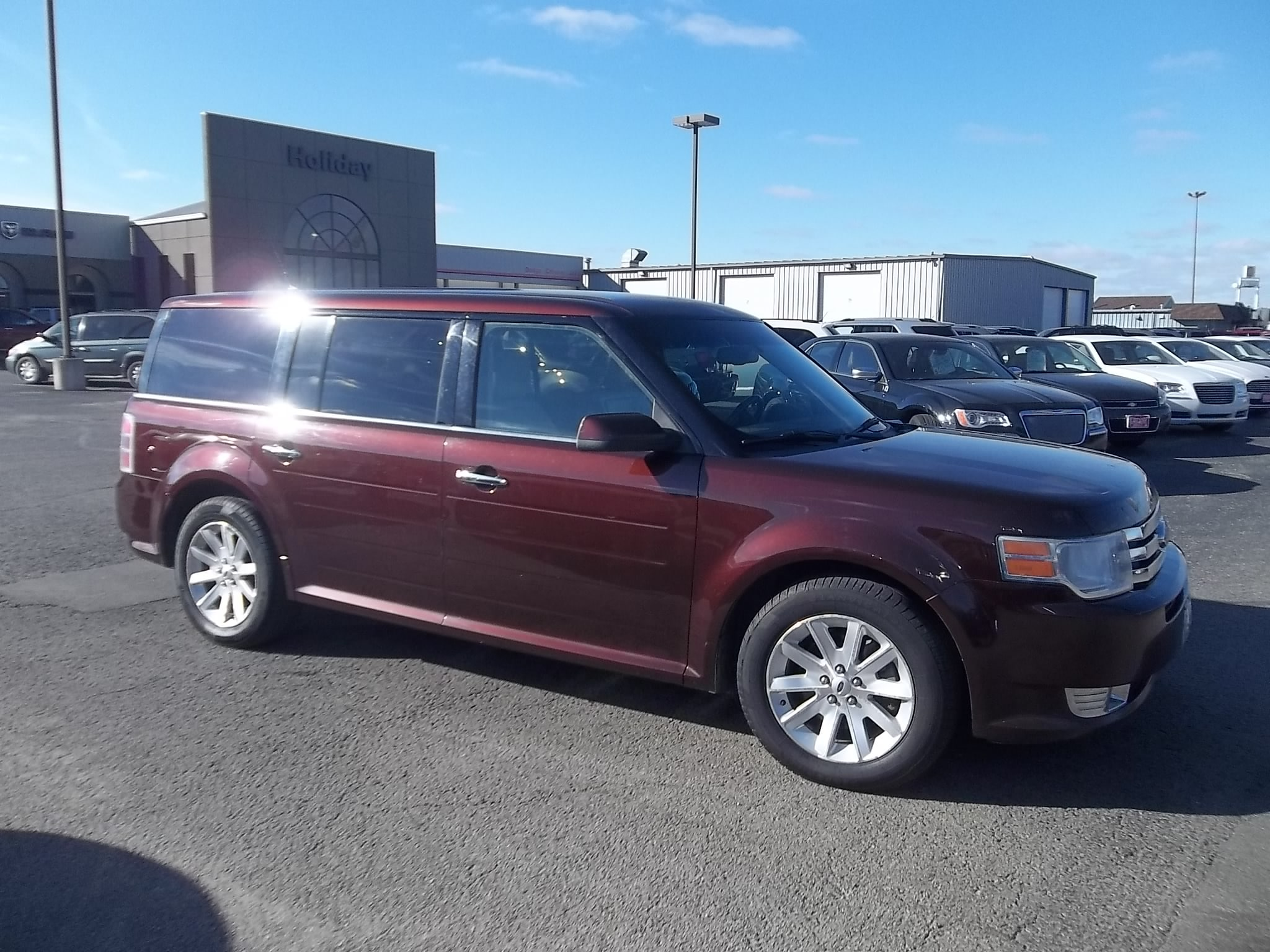 used 2010 ford flex for sale austin mn vin 2fmhk6cc3abd01685. Black Bedroom Furniture Sets. Home Design Ideas
