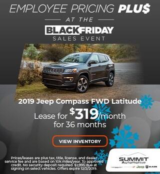 November 2019 Jeep Compass Latitude FWD