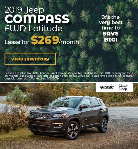 July 2019 Jeep Compass