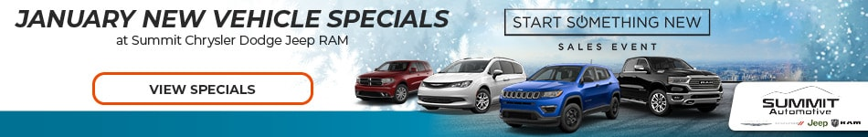 January 2020 New Vehicle Specials