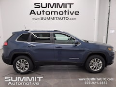 New 2021 Jeep Cherokee LATITUDE LUX 4X4 Sport Utility for sale in Fond du Lac, WI