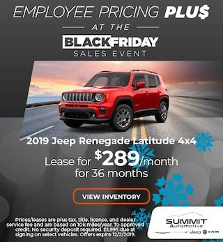 November 2019 Jeep Renegade Latitude 4x4
