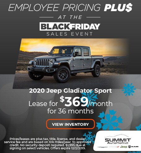 November 2020 Jeep Gladiator Sport
