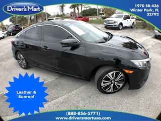 Used Vehicle for sale 2017 Honda Civic EX-L Sedan in Winter Park near Sanford FL