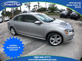 Used Vehicle for sale 2012 Volkswagen Passat 2.0L TDI SE w/Sunroof/Navigation Sedan in Winter Park near Sanford FL