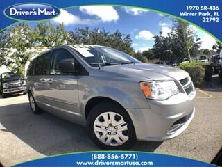 Used Vehicle for sale 2015 Dodge Grand Caravan SE Minivan in Winter Park near Sanford FL