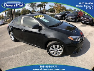 Used Vehicle for sale 2015 Toyota Corolla LE Sedan in Winter Park near Sanford FL