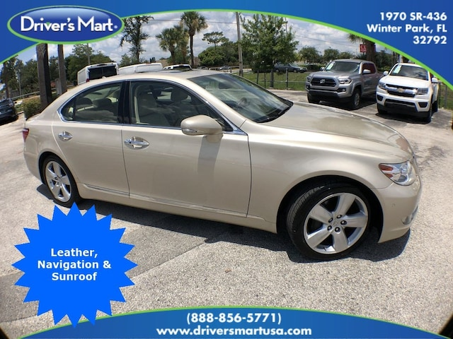 Used Vehicle for sale 2012 LEXUS LS 460 FWD (A8) Sedan in Winter Park near Sanford FL