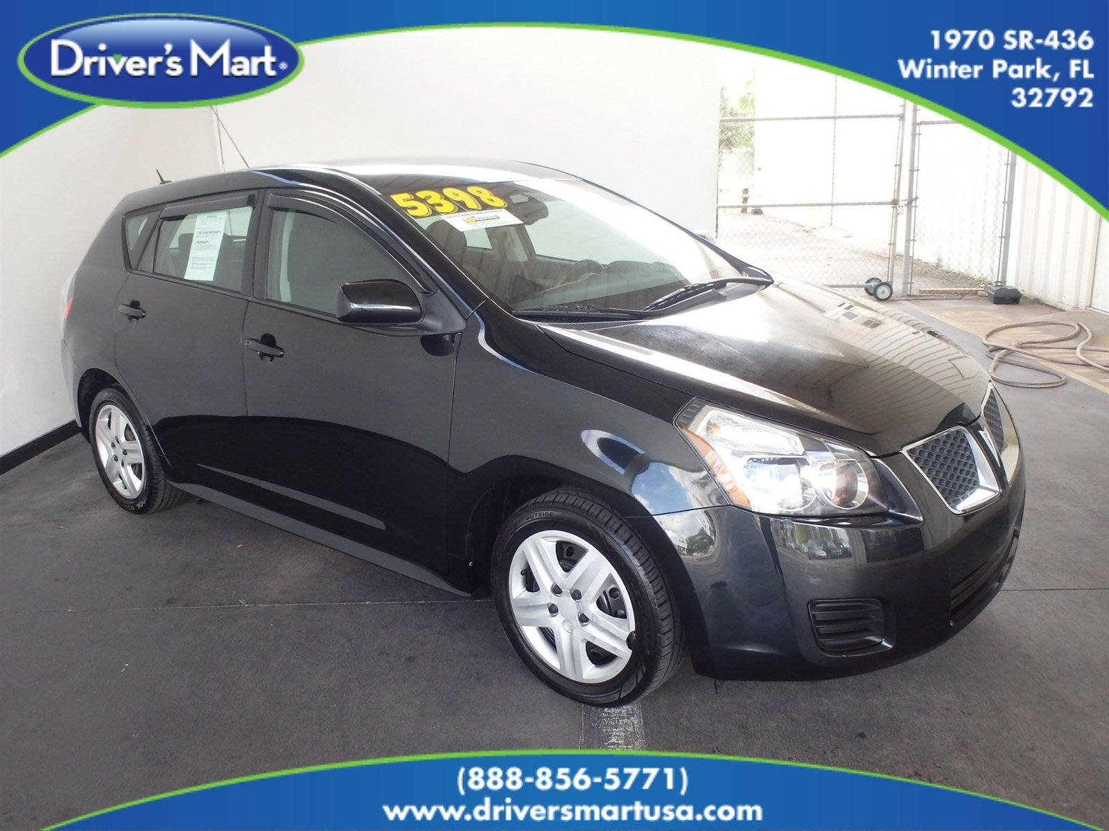 Used 2010 Pontiac Vibe Base w/1.8L Hatchback Winter Park