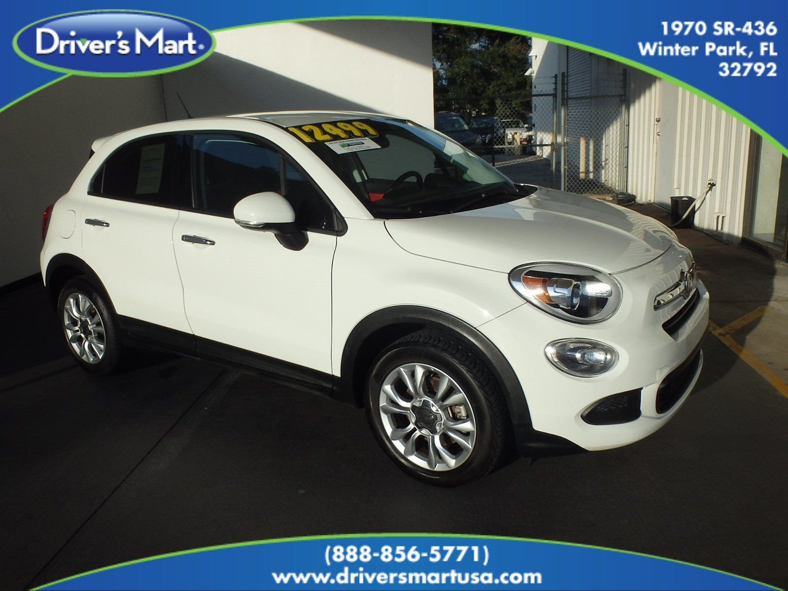 Used 2016 FIAT 500X Easy SUV Winter Park