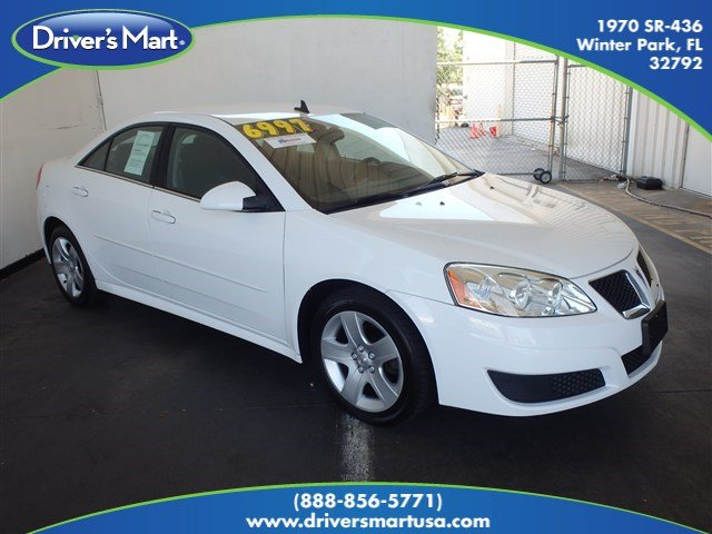 Used 2010 Pontiac G6 Base Sedan Winter Park