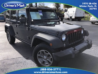 Used Vehicle for sale 2016 Jeep Wrangler JK Unlimited Rubicon 4x4 Convertible in Winter Park near Sanford FL