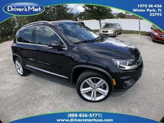 Used Vehicle for sale 2016 Volkswagen Tiguan 2.0T R-Line Automatic with 4MOTION SUV in Winter Park near Sanford FL