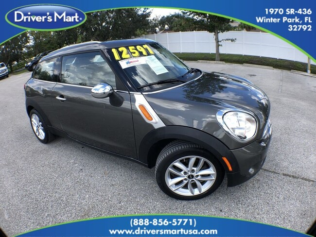 Used 2014 Mini Paceman Cooper For Sale In Winter Park Fl