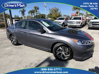 Used Vehicle for sale 2017 Honda Accord LX Sedan in Winter Park near Sanford FL