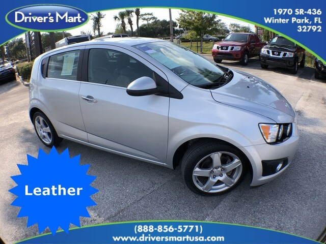 Used Vehicle for sale 2016 Chevrolet Sonic LTZ Auto Hatchback in Winter Park near Sanford FL