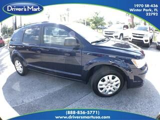 Used Vehicle for sale 2017 Dodge Journey SE SUV 3C4PDCABXHT608160 in Winter Park near Sanford FL