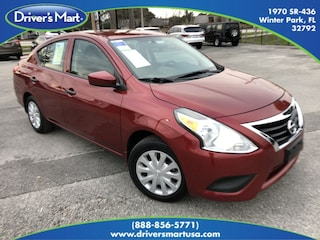 Used Vehicle for sale 2017 Nissan Versa 1.6 S+ Sedan in Winter Park near Sanford FL